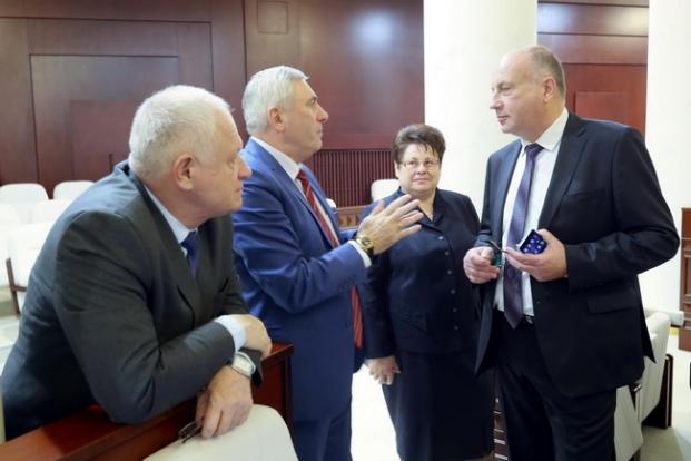 С коллегами - депутатами (19.02.2020)