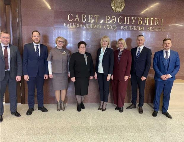 В Совете Республики Национального собрания Республики Беларусь (10.03.2021)