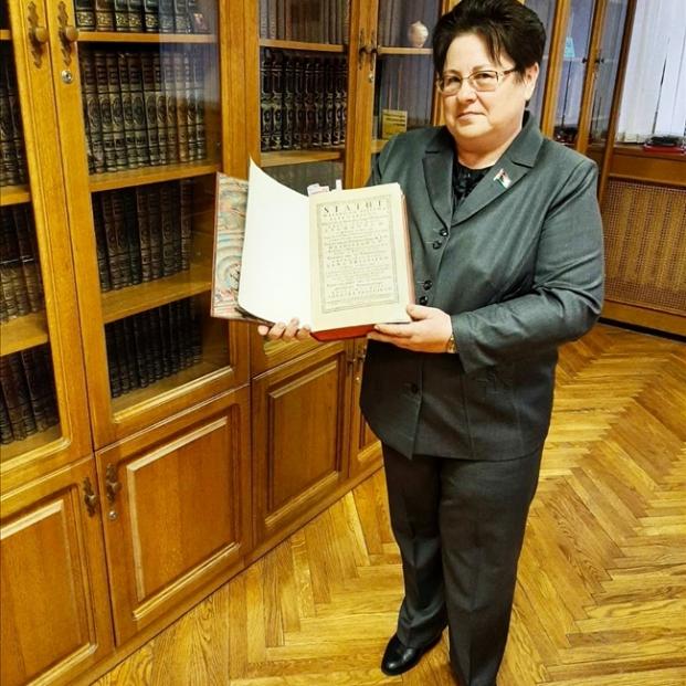 На экскурсии в Президентской библиотеке