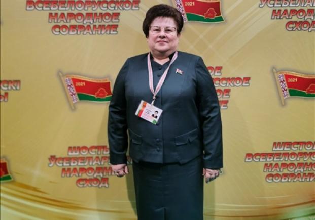 На VI Всебелорусском народном собрании (12.02.2021)